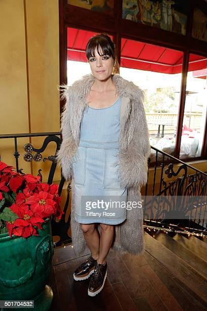 Actress Selma Blair hosts Baby2Baby holiday event at The Grove on December 16 2015 in Los Angeles California