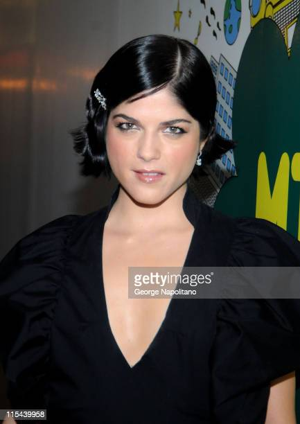 Actress Selma Blair visits MTV's 'TRL' at the MTV Studios in Times Square on July 8 2008 in New York City