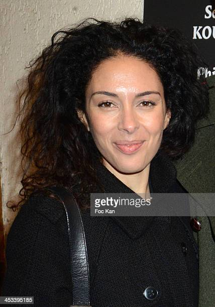 Actress Selma Kouchy attends The 'Harissa Mon Amour' Premiere At The Cinema Saint Andre Des Arts on December 3 2013 in Paris France