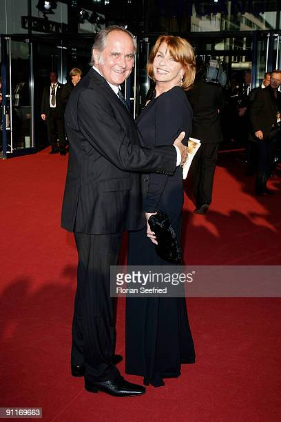 Actress Senta Berger and husband director Michael Verhoeven arrive for the German TV Award 2009 at the Coloneum on September 26 2009 in Cologne...