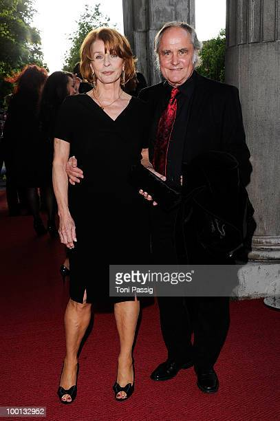 Actress Senta Berger and husband director Michael Verhoeven attend the 'Bayerischer Fernsehpreis 2010' at Prinzregententheater on May 21 2010 in...