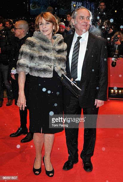 Actress Senta Berger and partner Michael Verhoeven attend the 'Tuan Yuan' Premiere during day one of the 60th Berlin International Film Festival at...