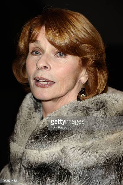 Actress Senta Berger attends the 'Tuan Yuan' Premiere during day one of the 60th Berlin International Film Festival at the Berlinale Palast on...
