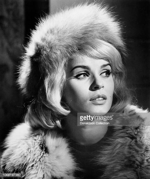 Actress Senta Berger in a scene from the movie The Victors
