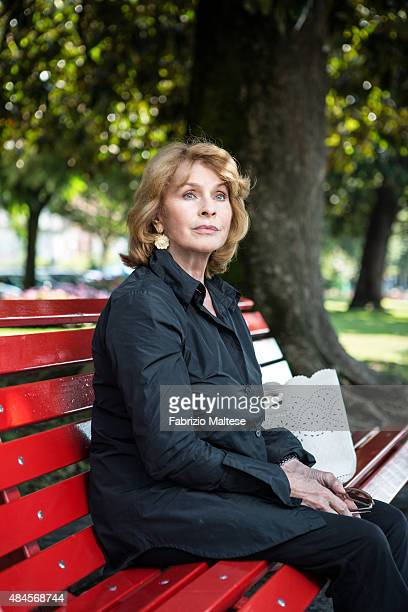 Actress Senta Berger is photographed for Self Assignment on August 7 2015 in Locarno Switzerland