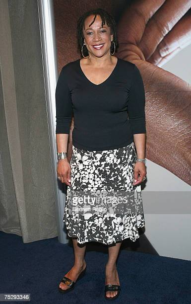 Actress S.Epatha Merkerson poses for pitcures while participating in Vaseline's Skinvoice Campaign2007 Essence Music Festival, July 6 New Orleans,...