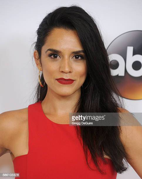 Actress Sepideh Moafi arrives at the Disney ABC Television Group TCA Summer Press Tour at the Beverly Hilton Hotel on August 4 2016 in Beverly Hills...