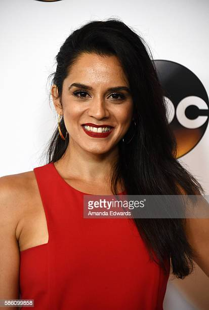 Actress Sepideh Moafi attends the Disney ABC Television Group TCA Summer Press Tour on August 4 2016 in Beverly Hills California