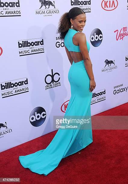 Actress Serayah arrives at the 2015 Billboard Music Awards at MGM Garden Arena on May 17 2015 in Las Vegas Nevada
