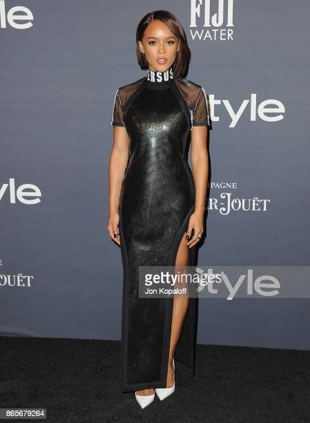 Actress Serayah arrives at the 3rd Annual InStyle Awards at The Getty Center on October 23 2017 in Los Angeles California