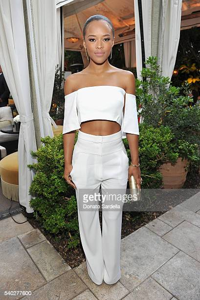 Actress Serayah McNeill attends Max Mara Celebrates Natalie Dormer The 2016 Women In Film Max Mara Face Of The Future at Chateau Marmont on June 14...