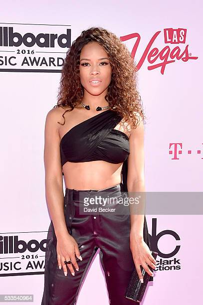 Actress Serayah McNeill attends the 2016 Billboard Music Awards at TMobile Arena on May 22 2016 in Las Vegas Nevada