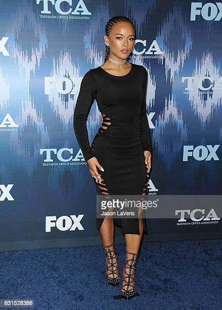 Actress Serayah McNeill attends the 2017 FOX All-Star Party at Langham Hotel on January 11, 2017 in Pasadena, California.
