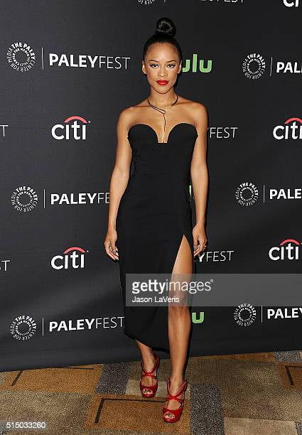 """Actress Serayah McNeill attends the """"Empire"""" event at the 33rd annual PaleyFest at Dolby Theatre on March 11, 2016 in Hollywood, California."""