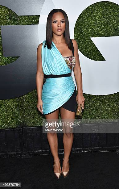 Actress Serayah McNeill attends the GQ 20th Anniversary Men Of The Year Party at Chateau Marmont on December 3 2015 in Los Angeles California