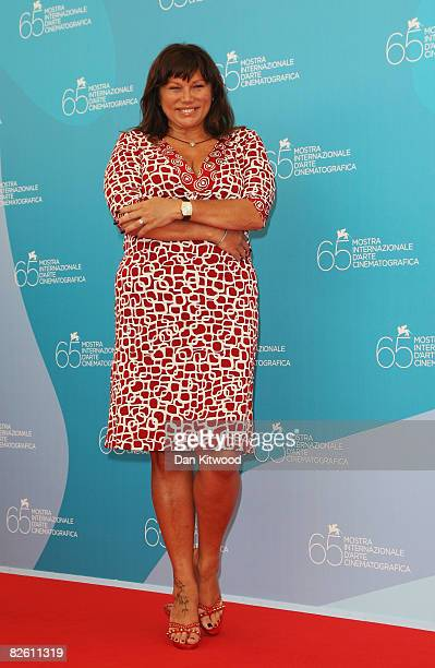Actress Serena Grandi attends the 'Il Papa Di Giovanna' photocall at the Piazzale del Casino during the 65th Venice Film Festival on August 31 2008...
