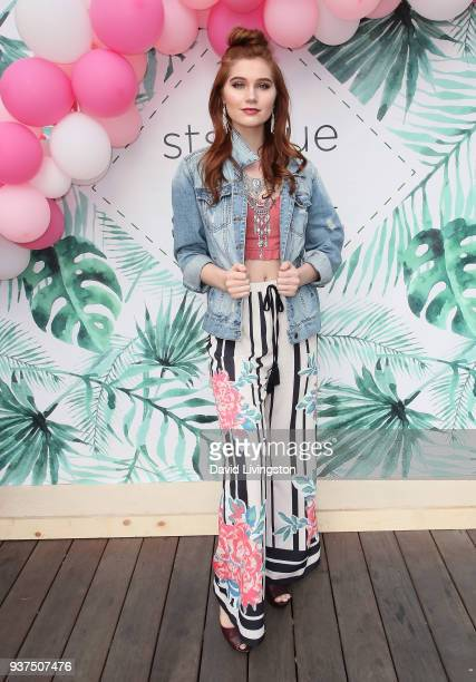 Actress Serena Laurel attends the sts blue x StyleCon kickoff to the festival season benefiting Shannon Elizabeth's Animal Avengers #DenimFest at...