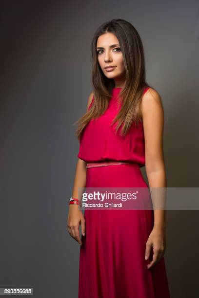 Actress Serena Rossi poses for a portrait during the 12th Rome Film Festival on November 2017 in Rome Italy