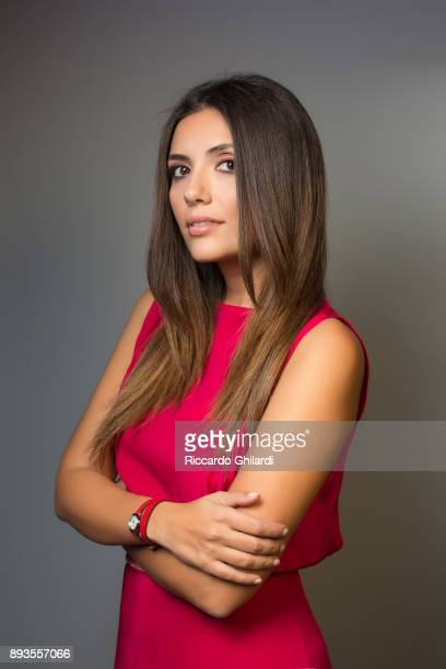 Actress Serena Rossi poses for a portrait during the 12th Rome Film Festival on November, 2017 in Rome, Italy. .