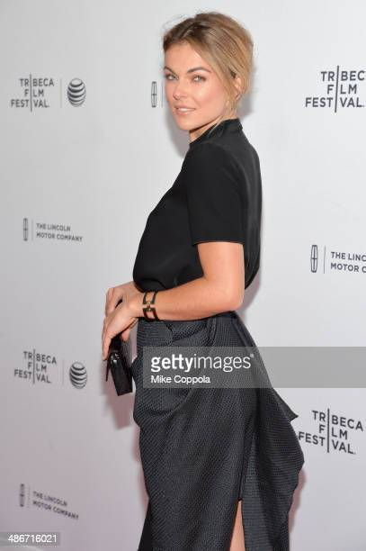 Actress Serinda Swan attends the Sister Premiere during the 2014 Tribeca Film Festival at the SVA Theater on April 25 2014 in New York City