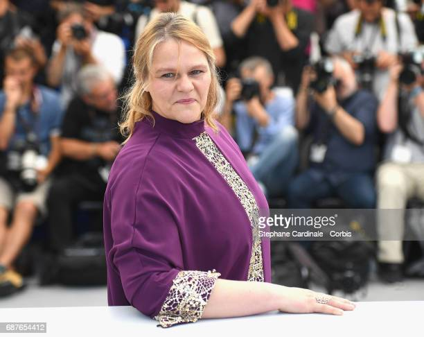 Actress Severine Caneele attends the 'Rodin' photocall during the 70th annual Cannes Film Festival at Palais des Festivals on May 24 2017 in Cannes...