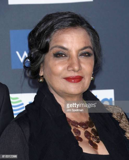 Actress Shabana Azmi attends the 2017 International Indian Film Academy Festival at MetLife Stadium on July 14 2017 in East Rutherford New Jersey
