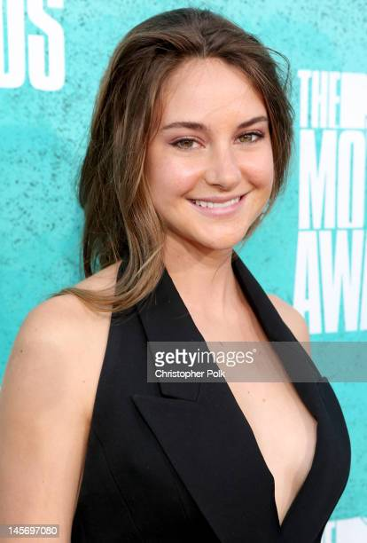 Actress Shailene Woodley arrives at the 2012 MTV Movie Awards held at Gibson Amphitheatre on June 3 2012 in Universal City California