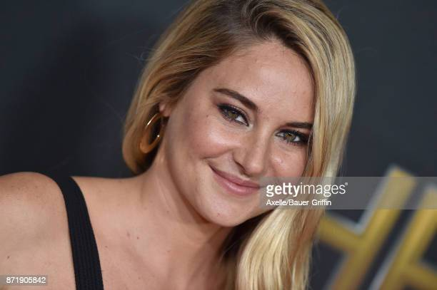 Actress Shailene Woodley arrives at the 21st Annual Hollywood Film Awards at The Beverly Hilton Hotel on November 5 2017 in Beverly Hills California