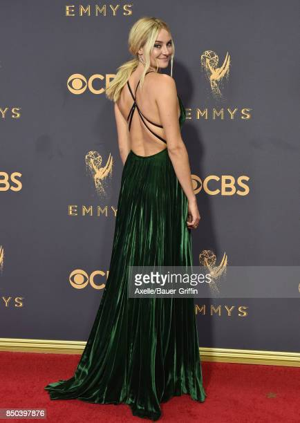 Actress Shailene Woodley arrives at the 69th Annual Primetime Emmy Awards at Microsoft Theater on September 17 2017 in Los Angeles California