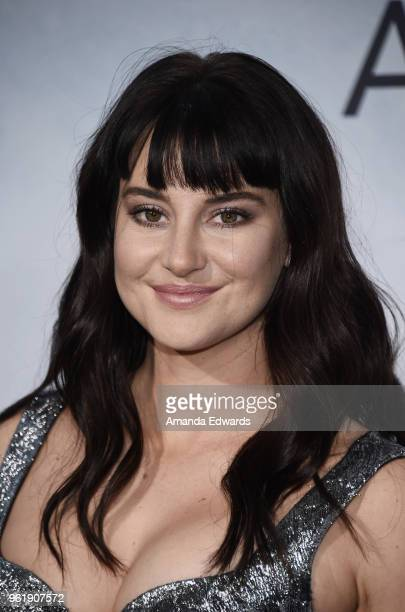 Actress Shailene Woodley arrives at the premiere of STX Films' 'Adrift' at the Regal LA Live Stadium 14 on May 23 2018 in Los Angeles California
