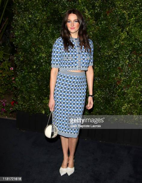 Actress Shailene Woodley attends Charles Finch And CHANEL's 11th Annual PreOscar Awards Dinner at Polo Lounge at The Beverly Hills Hotel on February...