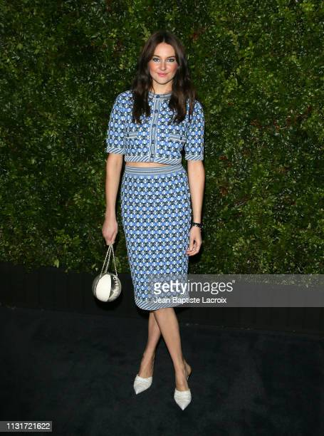 Actress Shailene Woodley attends Charles Finch And CHANEL's 11th Annual Pre-Oscar Awards Dinner at Polo Lounge at The Beverly Hills Hotel on February...