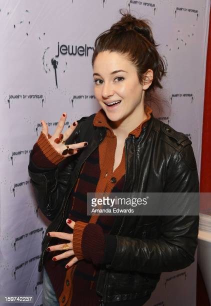 Actress Shailene Woodley attends Day 2 of the Kari Feinstein Style Lounge on January 19 2013 in Park City Utah