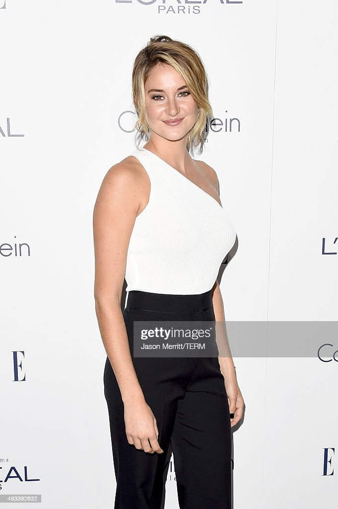 Actress Shailene Woodley attends the 22nd Annual ELLE Women in Hollywood Awards at Four Seasons Hotel Los Angeles at Beverly Hills on October 19, 2015 in Los Angeles, California.