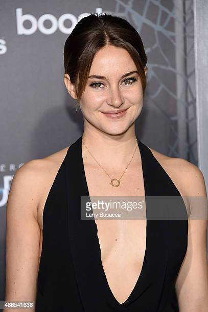 "Actress Shailene Woodley attends ""The Divergent Series: Insurgent"" New York premiere at Ziegfeld Theater on March 16, 2015 in New York City."