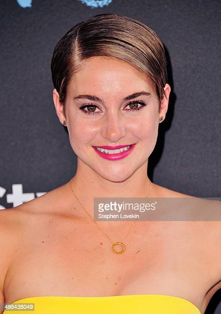 Actress Shailene Woodley attends The Fault In Our Stars premiere at Ziegfeld Theater on June 2 2014 in New York City