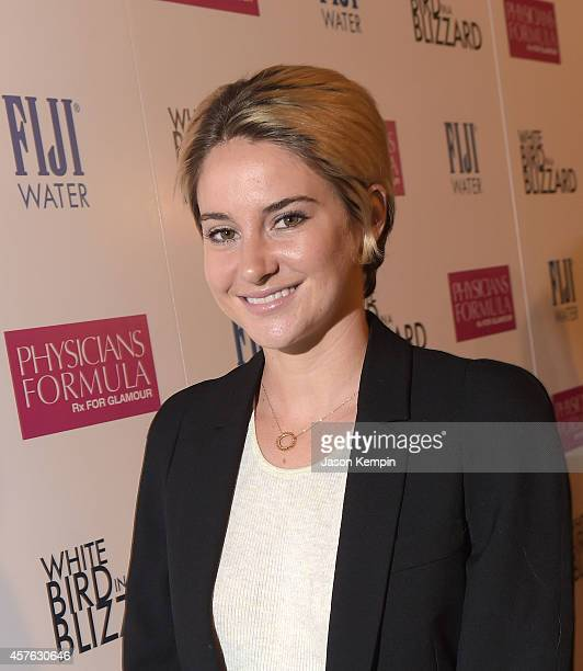 Actress Shailene Woodley attends the premiere of White Bird In A Blizzard at ArcLight Hollywood on October 21 2014 in Hollywood California