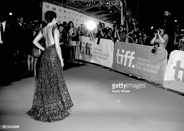 """Actress Shailene Woodley attends the """"Snowden"""" premiere during the 2016 Toronto International Film Festival at Roy Thomson Hall on September 9, 2016..."""
