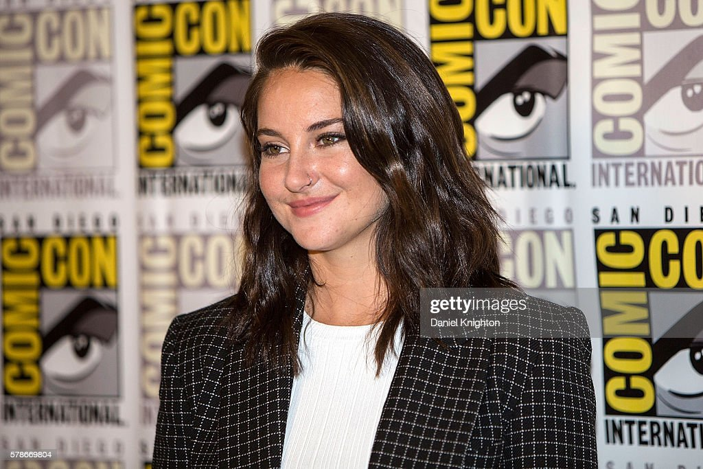 Actress Shailene Woodley attends the 'Snowden' press line during Comic-Con International 2016 - Day 1 at Hilton Bayfront on July 21, 2016 in San Diego, California.