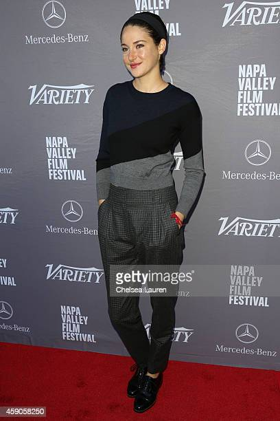 Actress Shailene Woodley attends the Variety 10 producers to watch and indie impact presented by MercedesBenz at The Culinary Institute of America on...