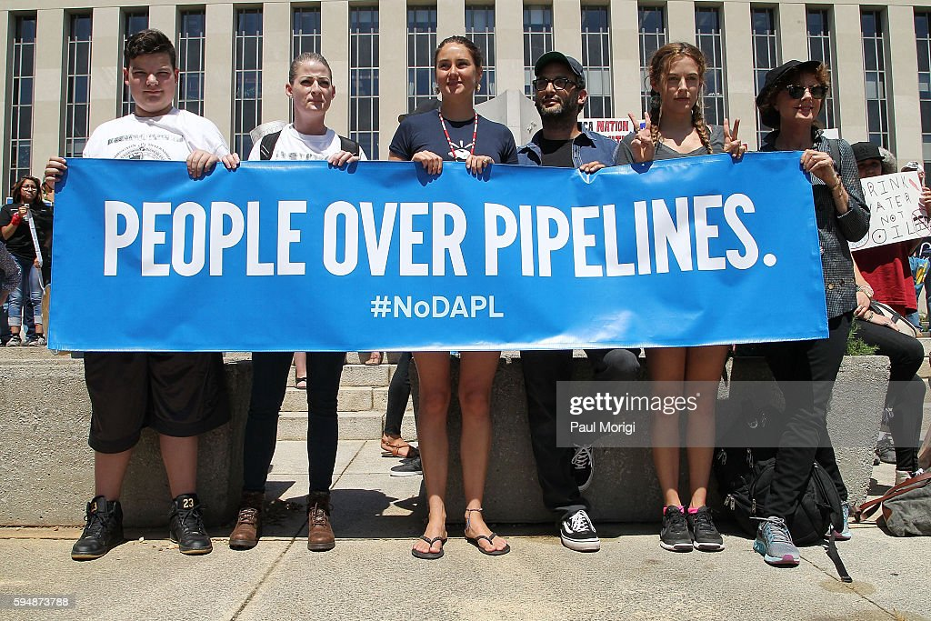 Rally In Support Of A Lawsuit Against The Army Corps Of Engineers To Protect Water & Land From The Dakota Access Pipeline