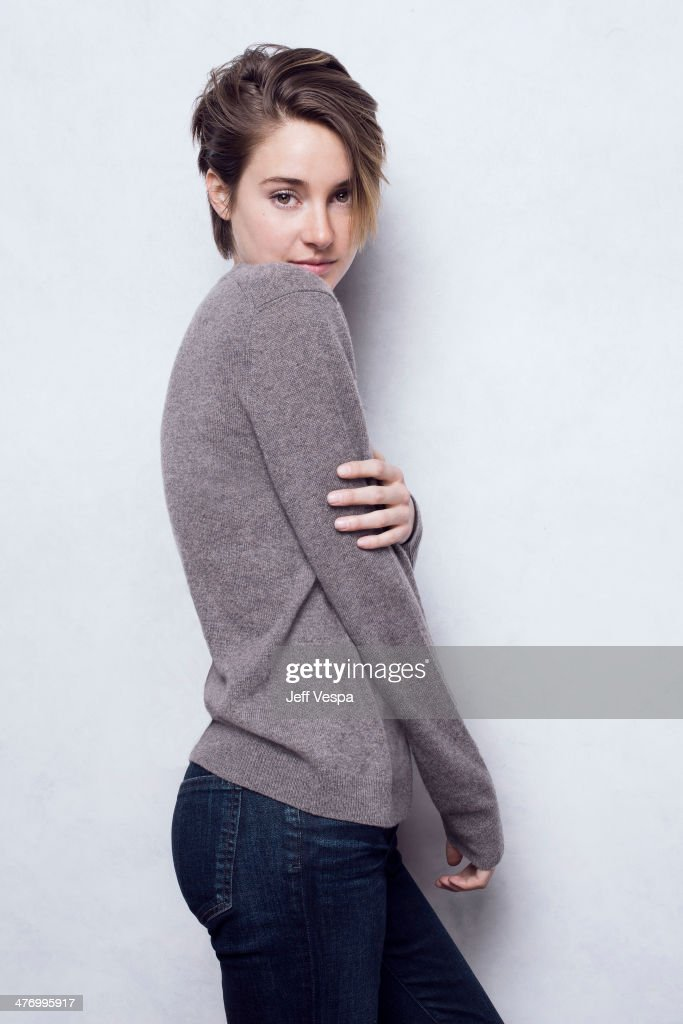 Actress Shailene Woodley is photographed at the Sundance Film Festival 2014 for Self Assignment on January 25, 2014 in Park City, Utah.