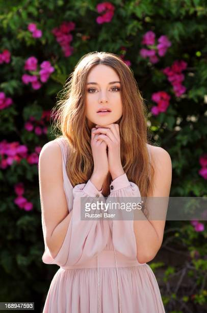 Actress Shailene Woodley is photographed for Coco Eco Magazine on January 15 2012 in Santa Monica California