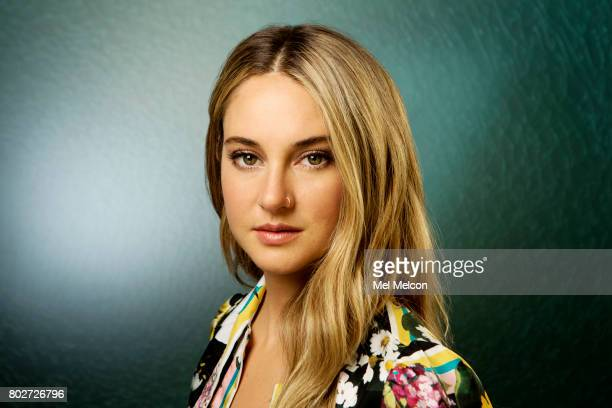 Actress Shailene Woodley is photographed for Los Angeles Times on May 19 2017 in Los Angeles California PUBLISHED IMAGE CREDIT MUST READ Mel...