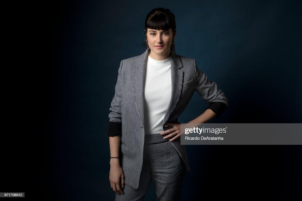 Shailene Woodley, Los Angeles Times, June 2, 2018