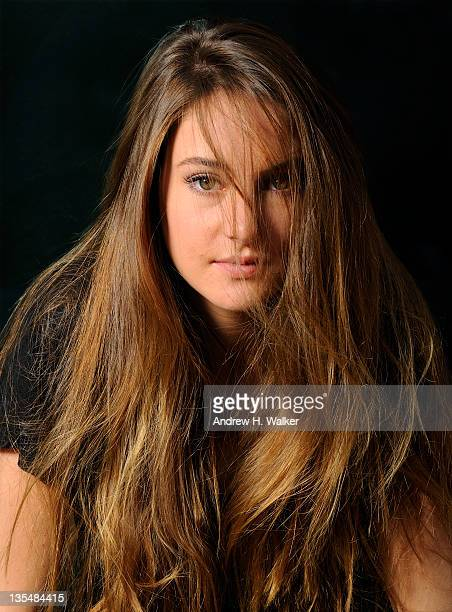 Actress Shailene Woodley poses during a portrait session at the 8th Annual Dubai International Film Festival held at the Madinat Jumeriah Complex on...