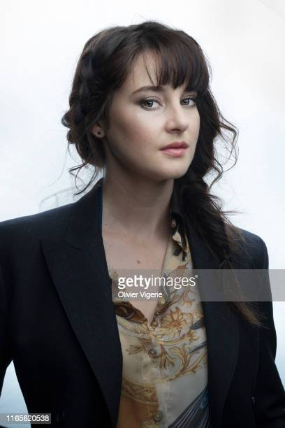 Actress Shailene Woodley poses for a portrait on September 5 2018 in Deauville France