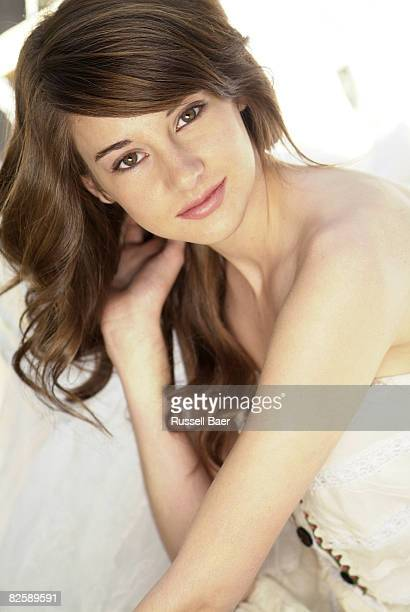 Actress Shailene Woodley poses for a portrait session in Santa Monica for Self Assignment on May 1 2008