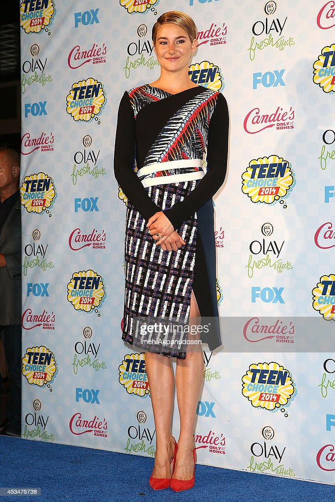 Teen Choice Awards 2014 - Press Room : News Photo