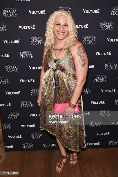 Actress Shakina Nayfack attends Vulture Hulu's screening of 'Difficult People' on August 7 2017 in New York City
